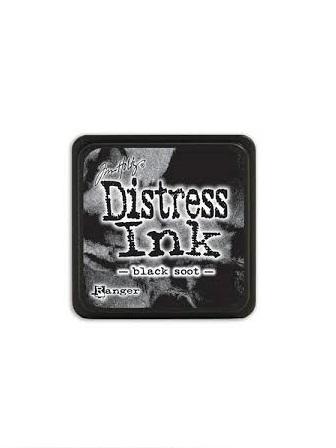 Distress Ink Pad Mini - Black Soot