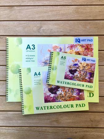 ART PAD - WATERCOLOUR PADA