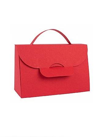 BUNTBOX Handbag M - Ruby