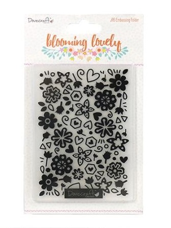 Blooming Lovely Embossing Folder