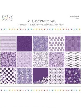 Floral Lace-Purple