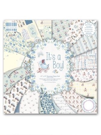 It's a Boy 12x 12 Papers
