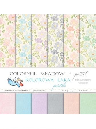 COLORFUL MEADOW - PASTEL